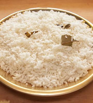 Spread the rice
